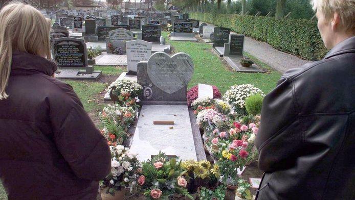 Het graf van Marianne.