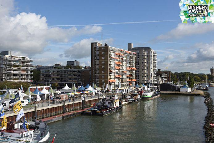 De Binnenvaartdagen in Zwijndrecht trokken in 2019 17.000 bezoekers.