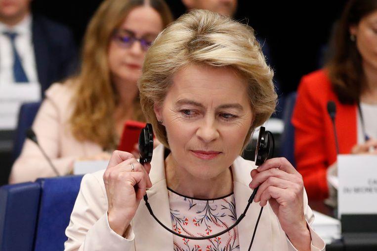 Commissievoorzitter Ursula von der Leyen Beeld AP