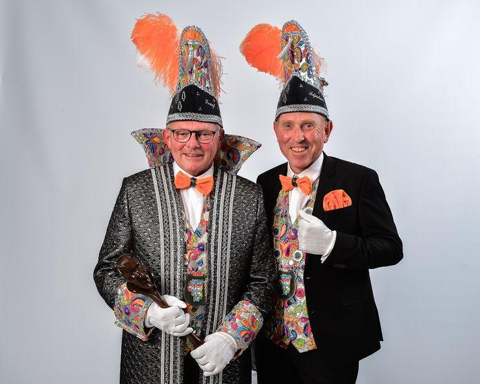 Graaf Norbert en adjudant Paul van De Bosdûvelkes