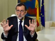 "L'exécutif catalan est entre les mains ""d'extrémistes"", selon Rajoy"