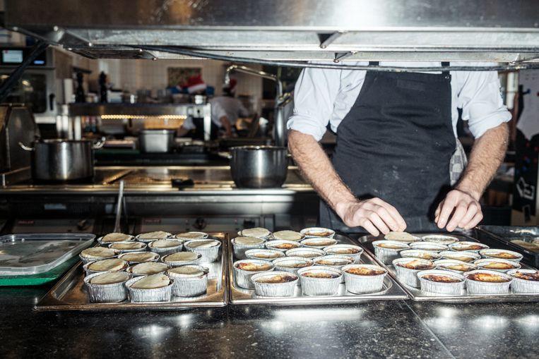 Bij Scheepskameel wordt alles in bakjes en zakjes klaargezet: anders dan andere jaren. Beeld Jakob Van Vliet