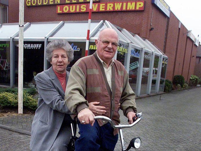 Archieffoto: echtpaar Maria en Louis Verwimp.