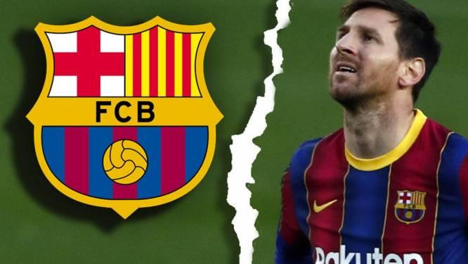 """FC Barcelona kondigt het absolute einde aan: """"Lionel Messi gaat niet meer door bij deze club"""""""