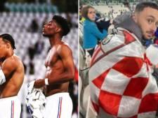 """""""On me mord violemment la main et je prends des coups"""": un fan agressé pour un maillot après le match entre les Bleus et les Diables"""