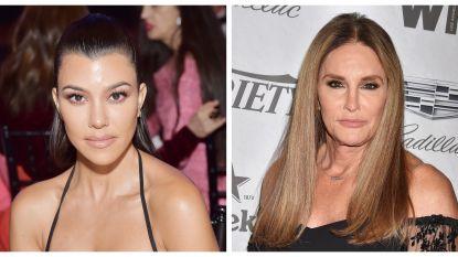 Kourtney Kardashian en Caitlyn Jenner begraven de strijdbijl