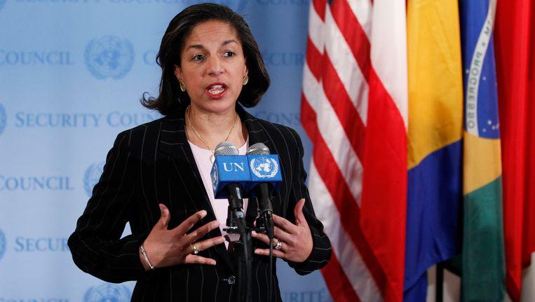 De Amerikaanse VN-ambassadrice Susan Rice Beeld REUTERS