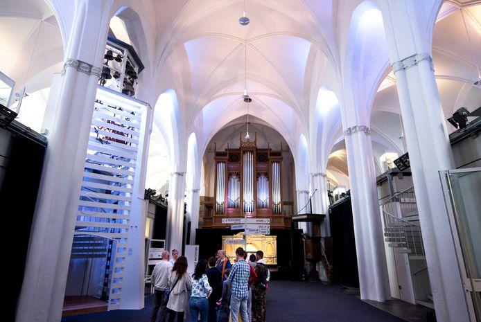 De Buurkerk in Utrecht is tijdens de Open Monumentendag van binnen te zien.