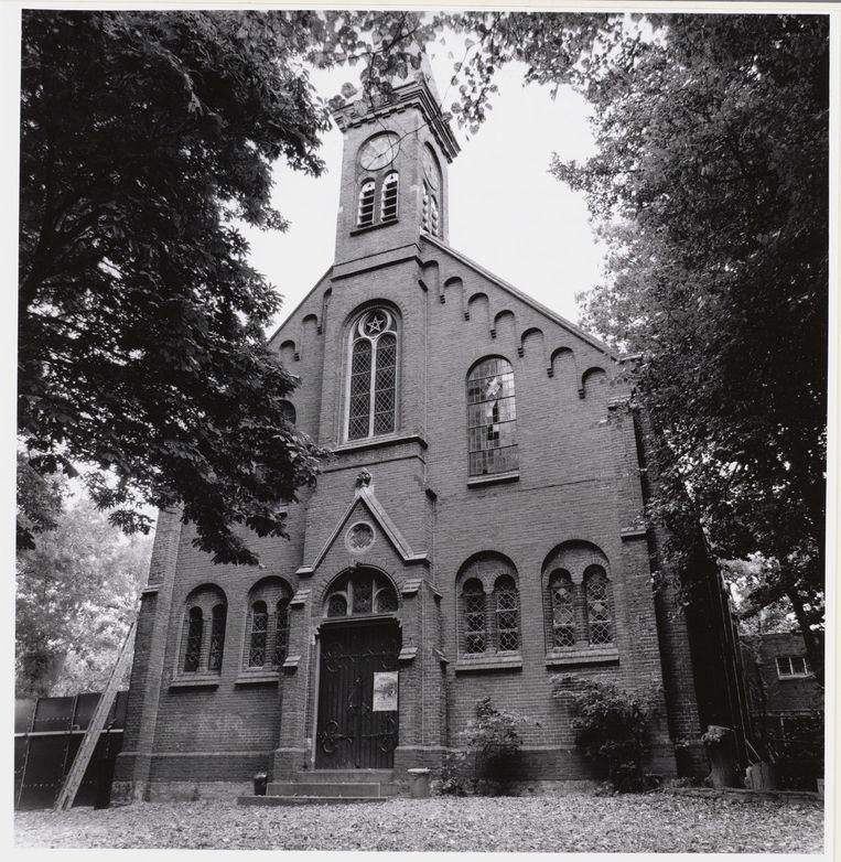 Op zondag 22 juli 1973 vond de laatste mis plaats in de Sint-Gertrudiskerk in Ruigoord. Beeld Stadsarchief