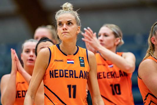 Jill Bettonvil van het Nederlandse basketbalteam behoort ook tot de speelsters van het 3x3-team.