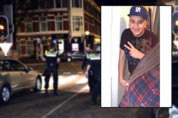 Azad Sahin (17) uit Den Haag werd op 7 april neergeschoten.