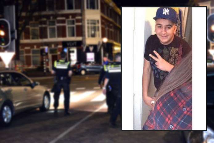 Azad Sahin (17) uit Den Haag. Hij werd op 7 april in shishalounge VLVT in Den Haag neergeschoten en overleed maandag 9 april in het ziekenhuis.