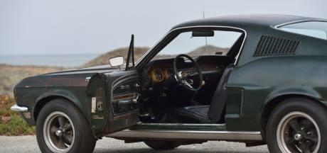 Privé-Mustang van Steve McQueen wordt geveild