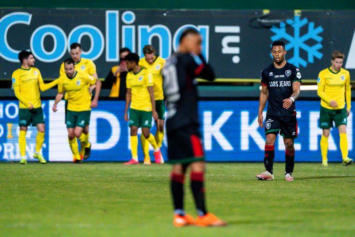 ADO Den Haag verliest op bezoek bij Fortuna Sittard zonder een schot op doel te noteren.