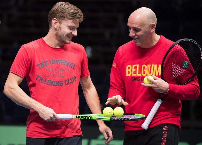 David Goffin et Johan Van Herck