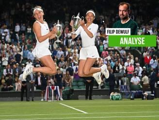 """Onze tennisexpert ziet Elise Mertens ook hoog scoren in Tokio: """"Een medaille voor doorzettingsvermogen heeft ze al"""""""