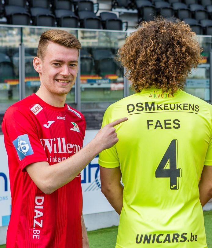 Sander Coopman en Wout Faes.