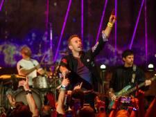 Coldplay en concert au stade roi Baudouin en août 2022