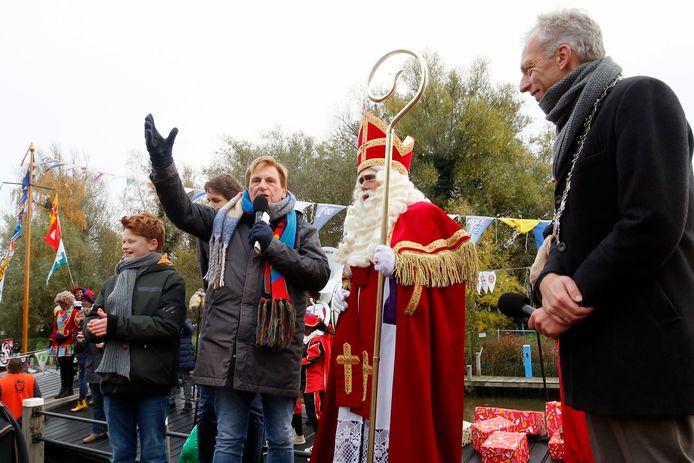 De aankomst van Sinterklaas in Leerdam.
