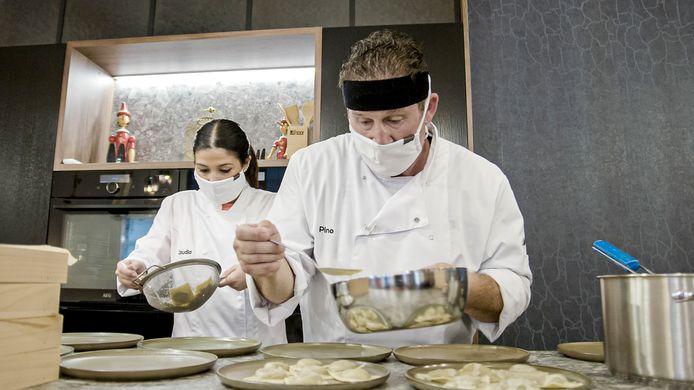 Claudia & Pino in 'Mijn Keuken, Mijn Restaurant'