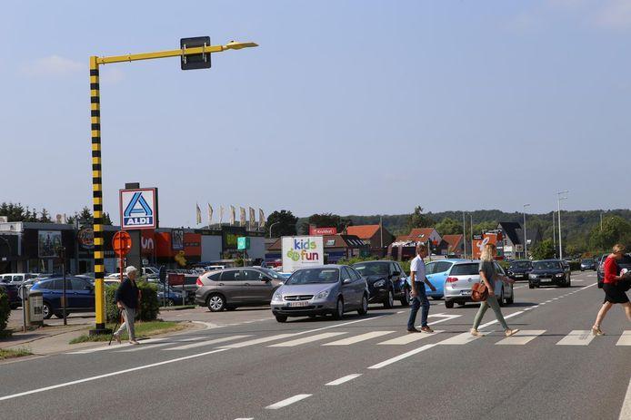 De grootste uitdaging is de verkeersdrukte rond het Gouden Kruispunt te ontlasten.