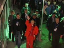 President Poetin loopt Holland Heineken House binnen