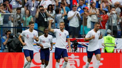 LIVE: Engeland op rozen: Kane jaagt vanop de stip z'n derde WK-treffer staalhard binnen