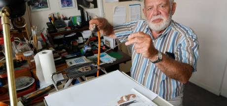 Geer (84) maakt emaillen werkstukken: 'Er is zoveel mee mogelijk, dat is onvoorstelbaar'