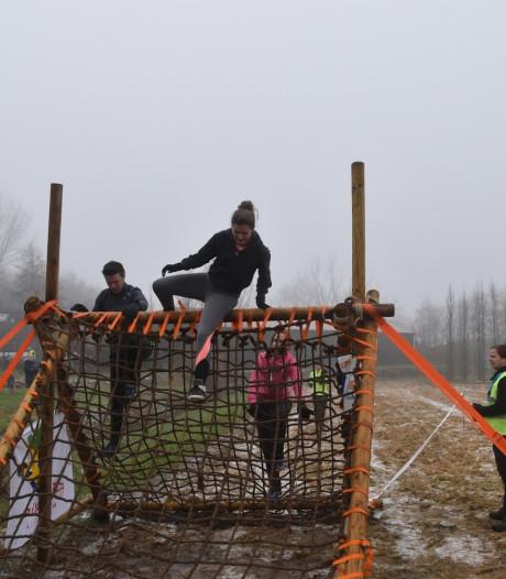 Gastels bos binnen een week gevuld met hindernissen voor Obstacle Run