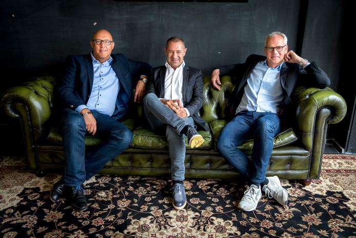 Jaco Scheffers, Roland Kahn en Ronald van Zetten zijn de mannen achter modeplatform Frendz.