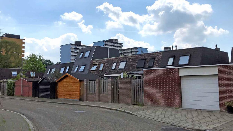 De wijk Zwanenveld in stadsdeel Dukenburg, Nijmegen.