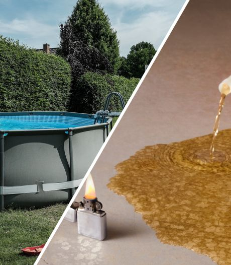 Jongeren 'blussen' brandende jerrycan in zwembad in Ermelo. Dat was de tweede fout