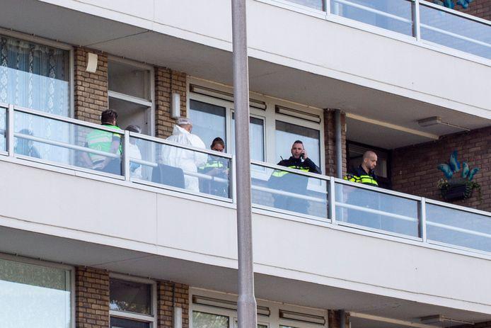 Op donderdag 29 juli 2021 werd er in een woning aan de Kapitein Horsmanflat in Zwijndrecht een groot politieonderzoek gedaan.