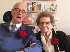 Toon en Netje Willems 60 jaar samen. Tijdens de middenstandscursus werd al volop geflirt