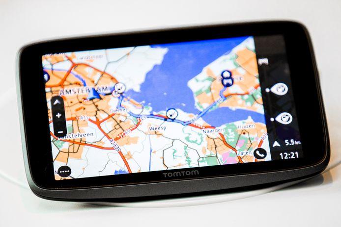 Navigatiekastje van TomTom.