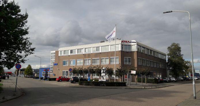 Het Atea-gebouw aan de Riethil in Breda.