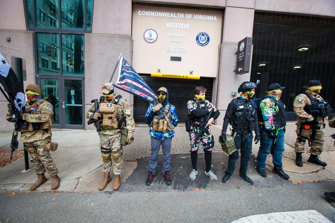 Jaap L. nam volgens de FBI in Richmond (Virginia) deel aan protesten met de Boogaloo Bois.