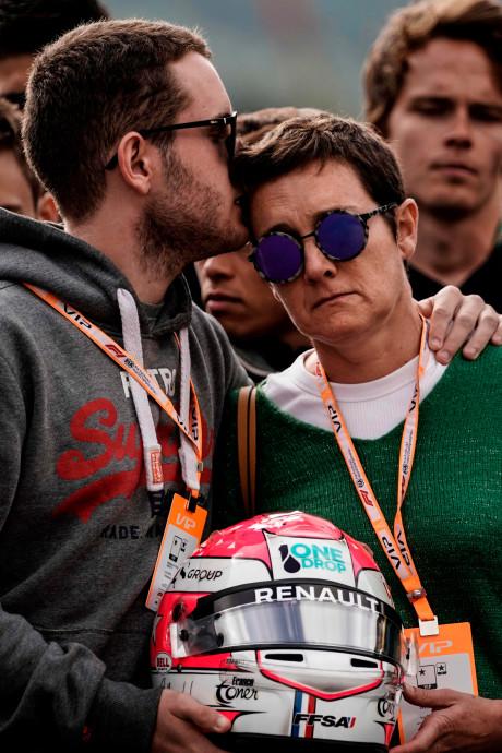 L'hommage déchirant à Anthoine Hubert à Spa-Francorchamps