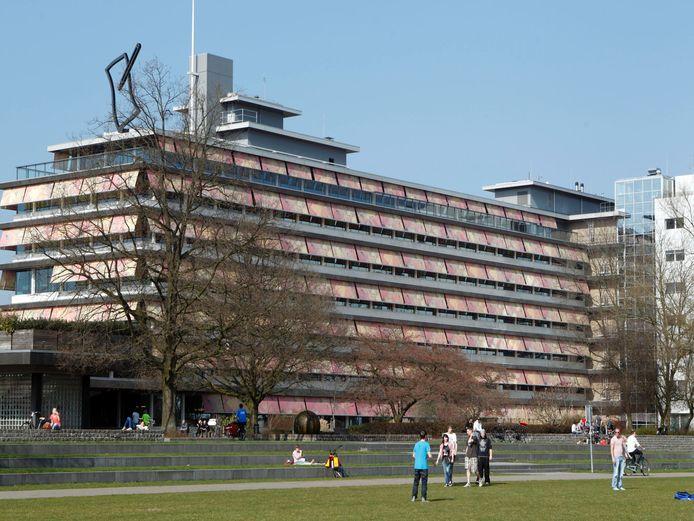 Het provinciehuis van Overijssel in Zwolle.