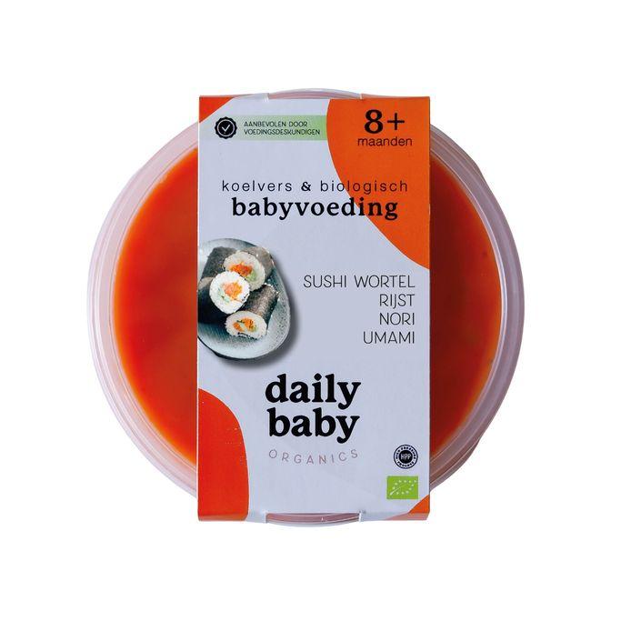 Sushi voor baby's.