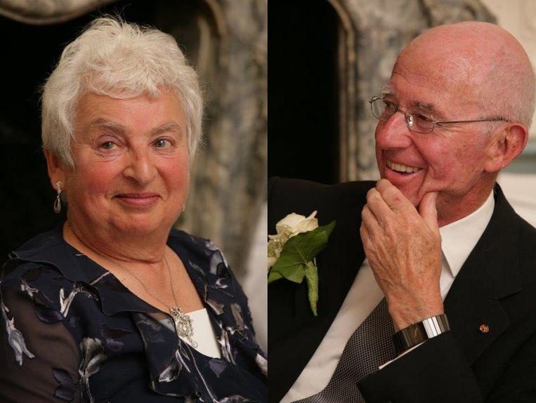 Mieke Veth-Gomperts (1935-2021) en Maarten Veth (1933-2021). Beeld