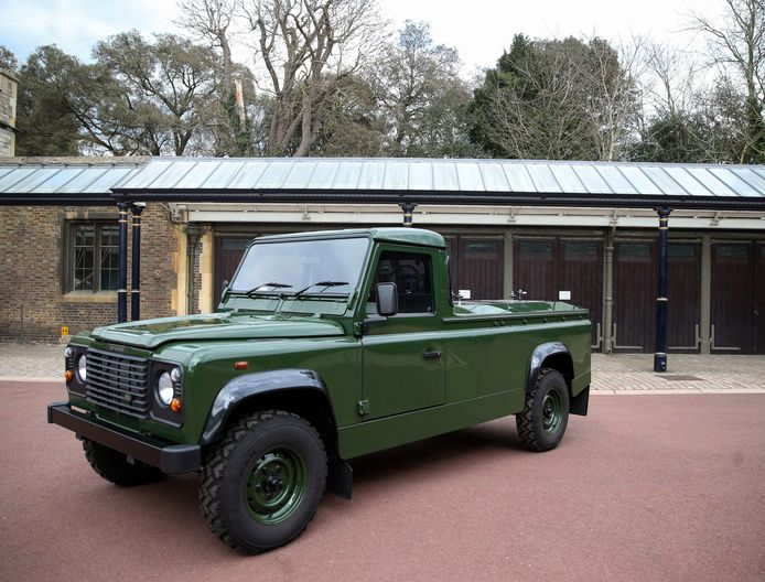 Le cercueil du prince Philip sera transporté du château de Windsor à la chapelle Saint-Georges à bord d'un 4X4 Land Rover dédié.