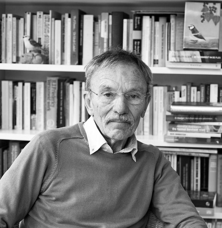 John Jansen van¿Galen is schrijver en journalist. Hij was 25 jaar columnist voor Het Parool. Beeld Homeira Rastegar