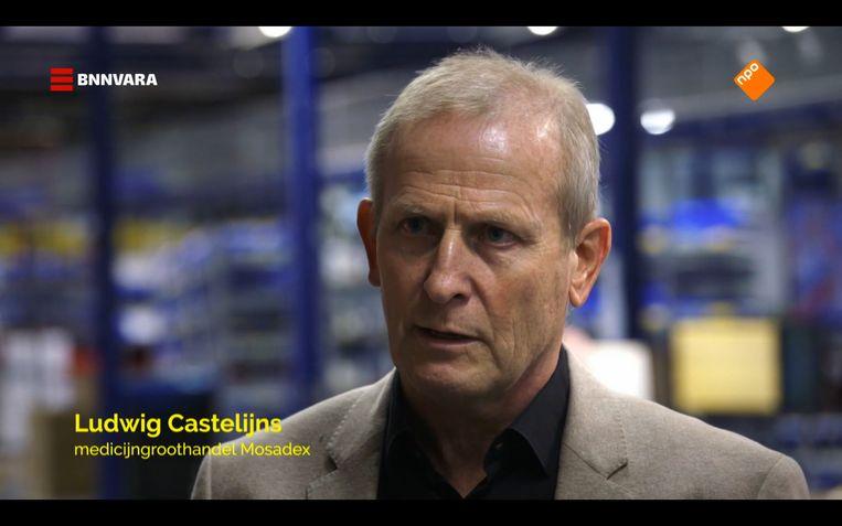 Castelijns pleit al jaren voor een basisvoorraad aan medicijnen. Beeld Zembla/NPO