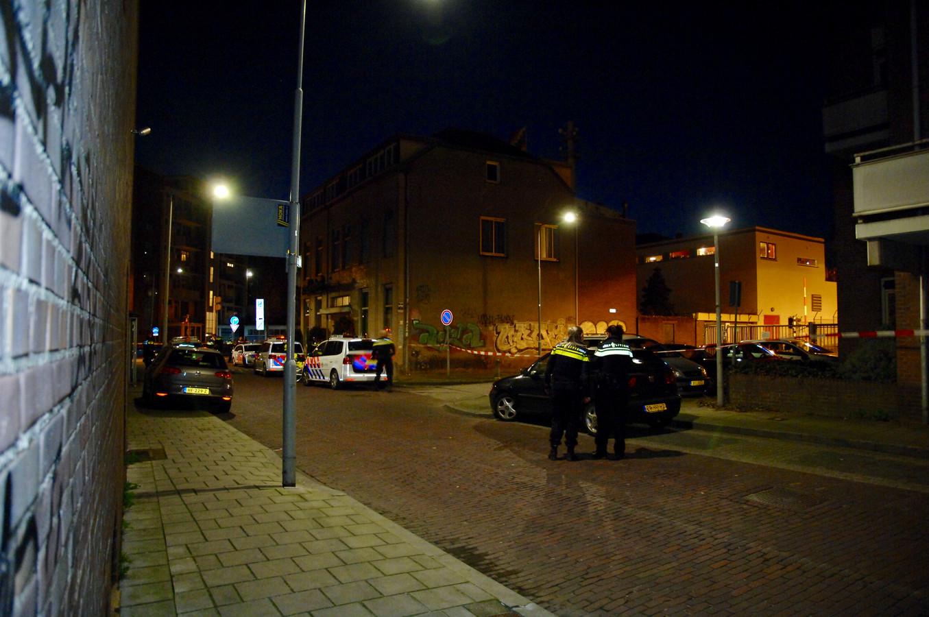 De Patersstraatin Arnhem.