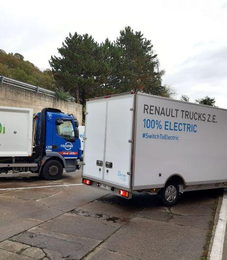 Des véhicules 100% propres pour ramasser les déchets à Liège