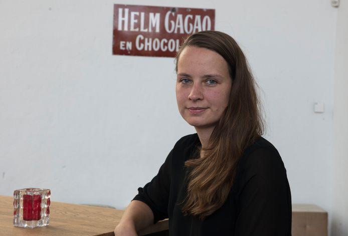 Tahné Kleijn in de Cacaofabriek in Helmond