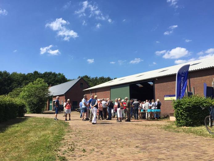 Voor beide concerten van het Regio Orkest West-Brabant en Natuurmonumenten is de beheerschuur Brabantse Wal aan de Abdijlaan in Ossendrecht de verzamelplaats.