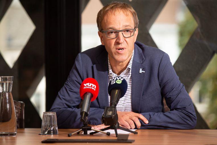 UGent-rector Rik Van de Walle. Beeld BELGA