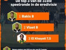 Heraclieden en El Khayati stelen de show, spelers VVV en Twente geven niet thuis